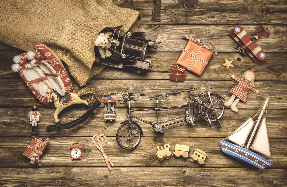 Drevené hračky ako dekorácia