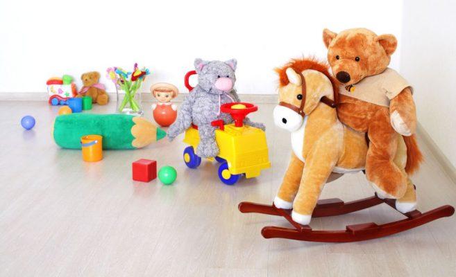 Hračky ako dekorácia