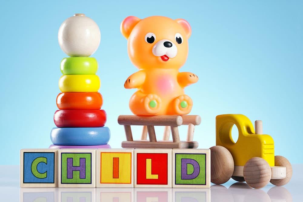 prvé hračky pre deti