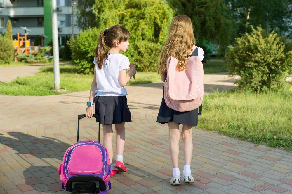 Taška do školy na kolieskach